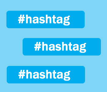 how to create a hashtag on twitter