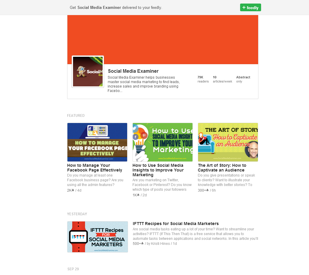 feedly-feed